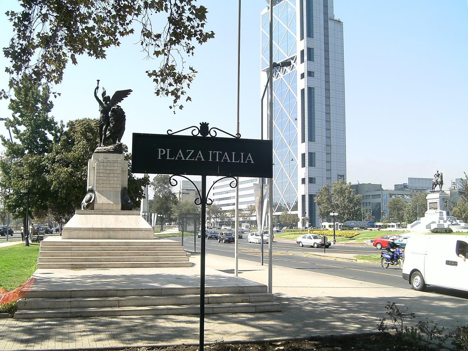 Descubra la Plaza Italia