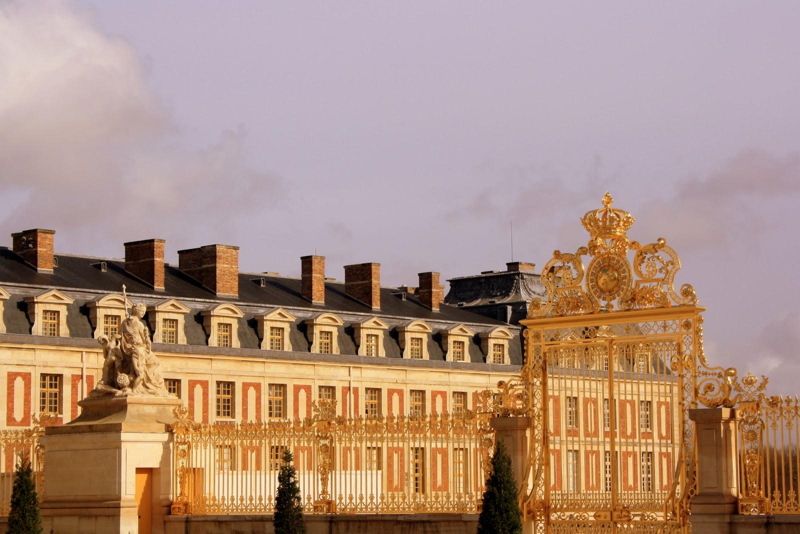 Versailles - Entrada principal a Versailles