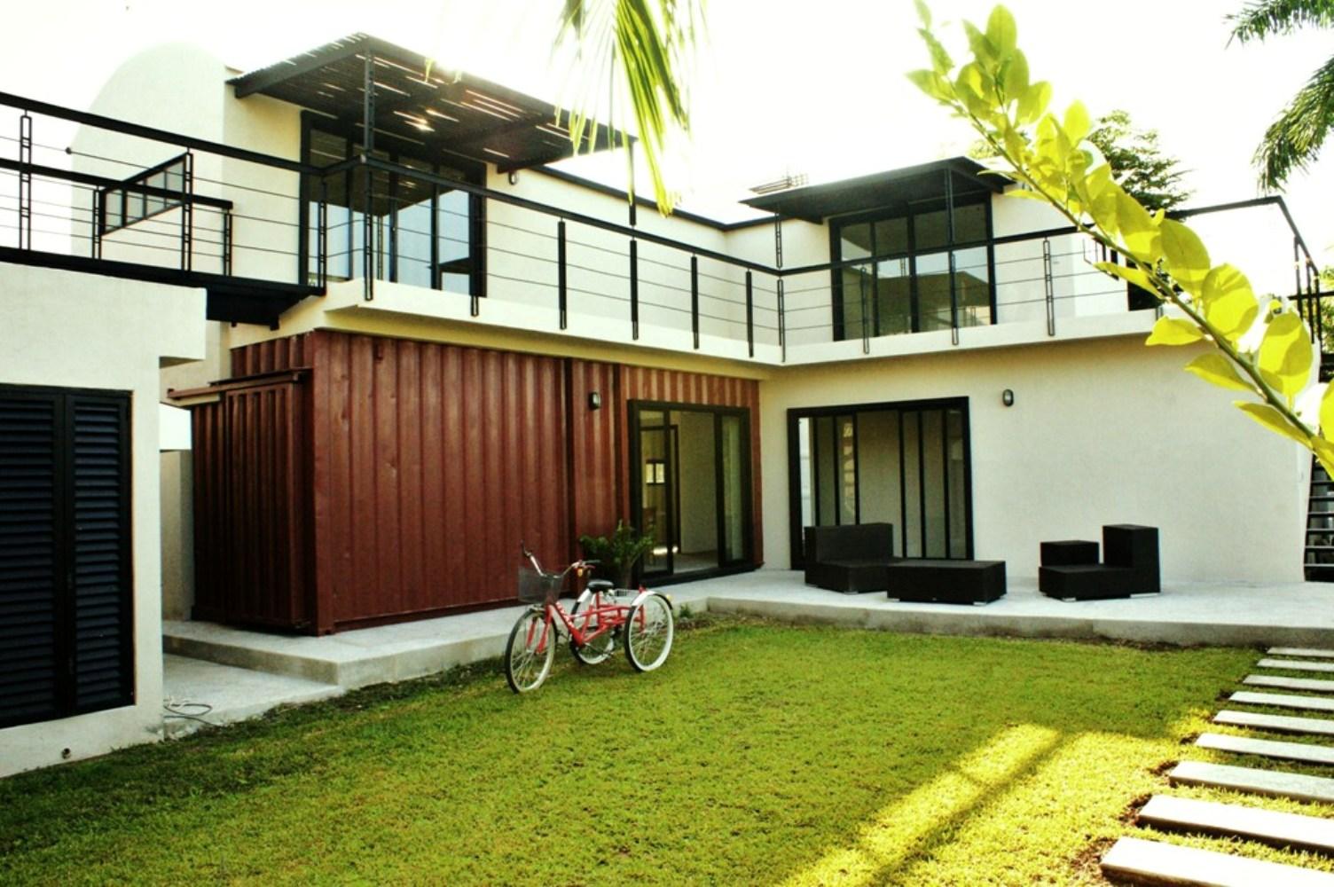 Mira las mejores casas hechas de contenedores jbl comercial - Casa de contenedores ...