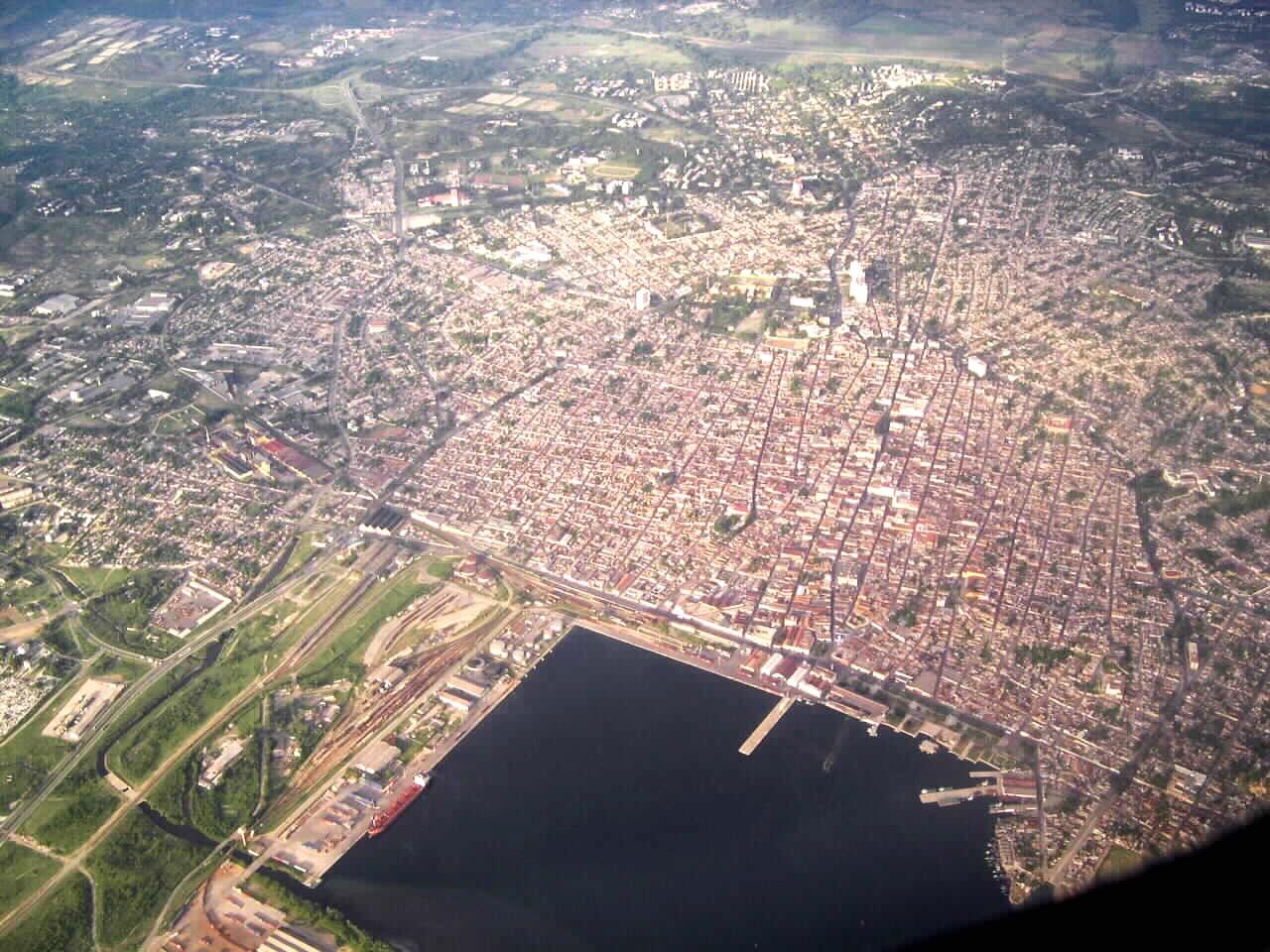Vista aerea Stgo