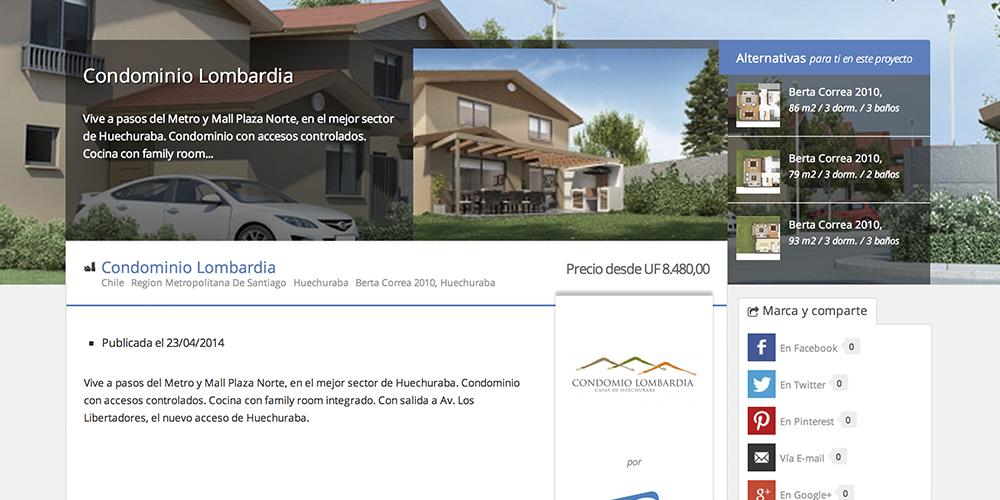 Proyecto Condominio Lombardia