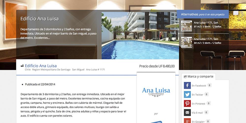 Proyecto Edificio Ana Luisa