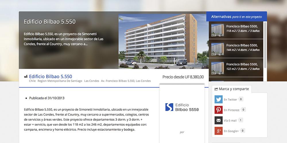 Proyecto Edificio Bilbao 5550