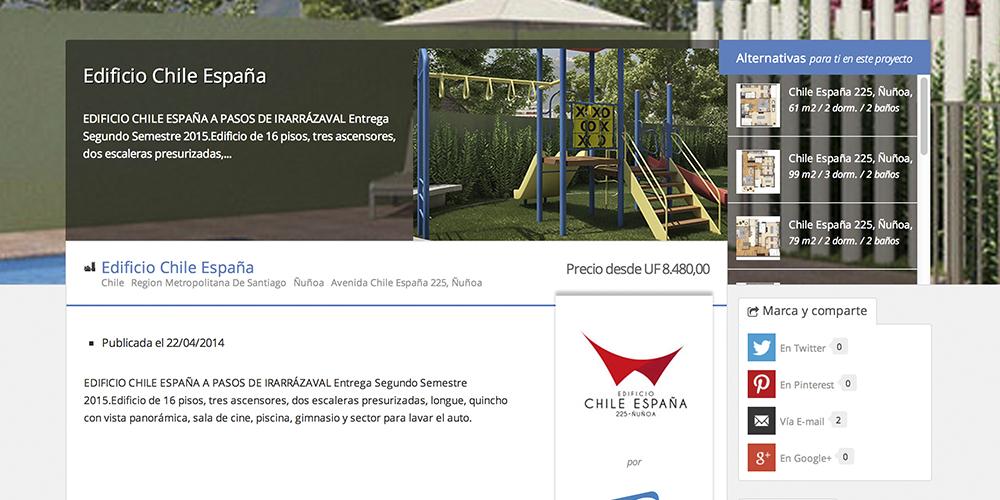 Proyecto Edificio Chile-EspanÞa