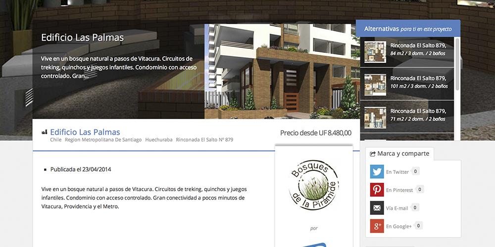 Proyecto Edificio Las Palmas