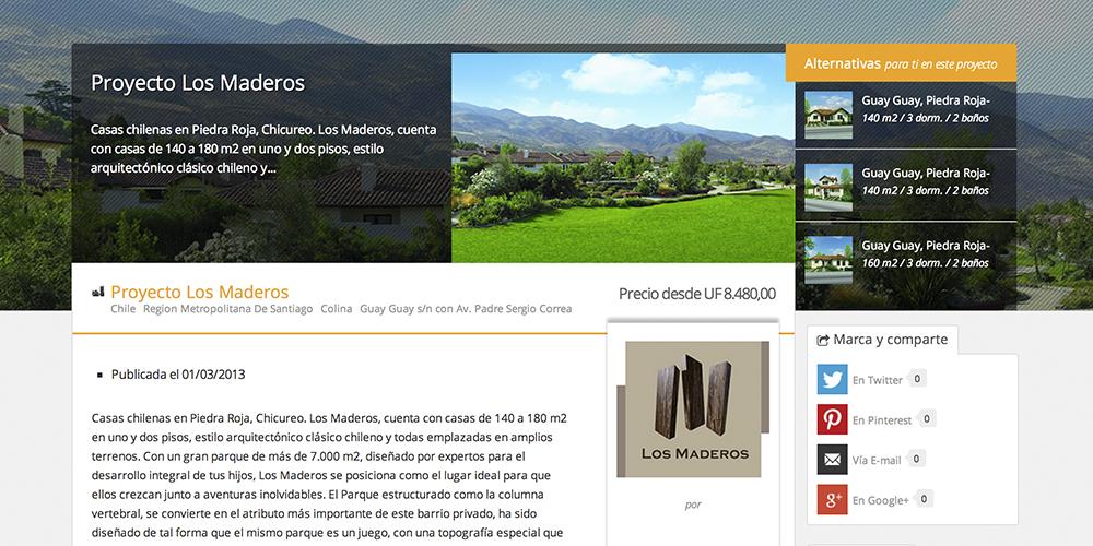 Proyecto Los Maderos