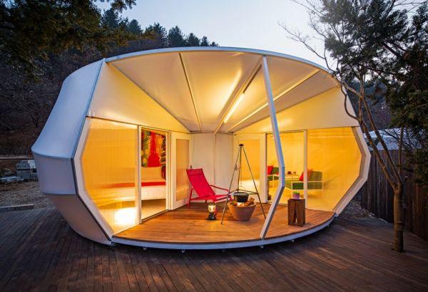 Muebles De Cocina Para Camping | Camping De Lujo En La Ladera De Una Montana En Corea Del Sur