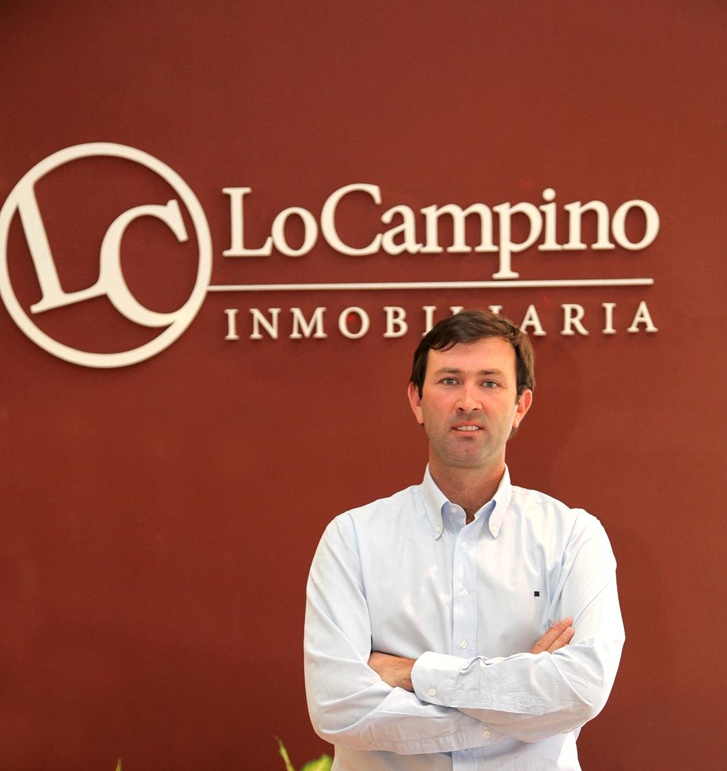 José Miguel Guzmán, gerente general de Inmobiliaria Lo Campino