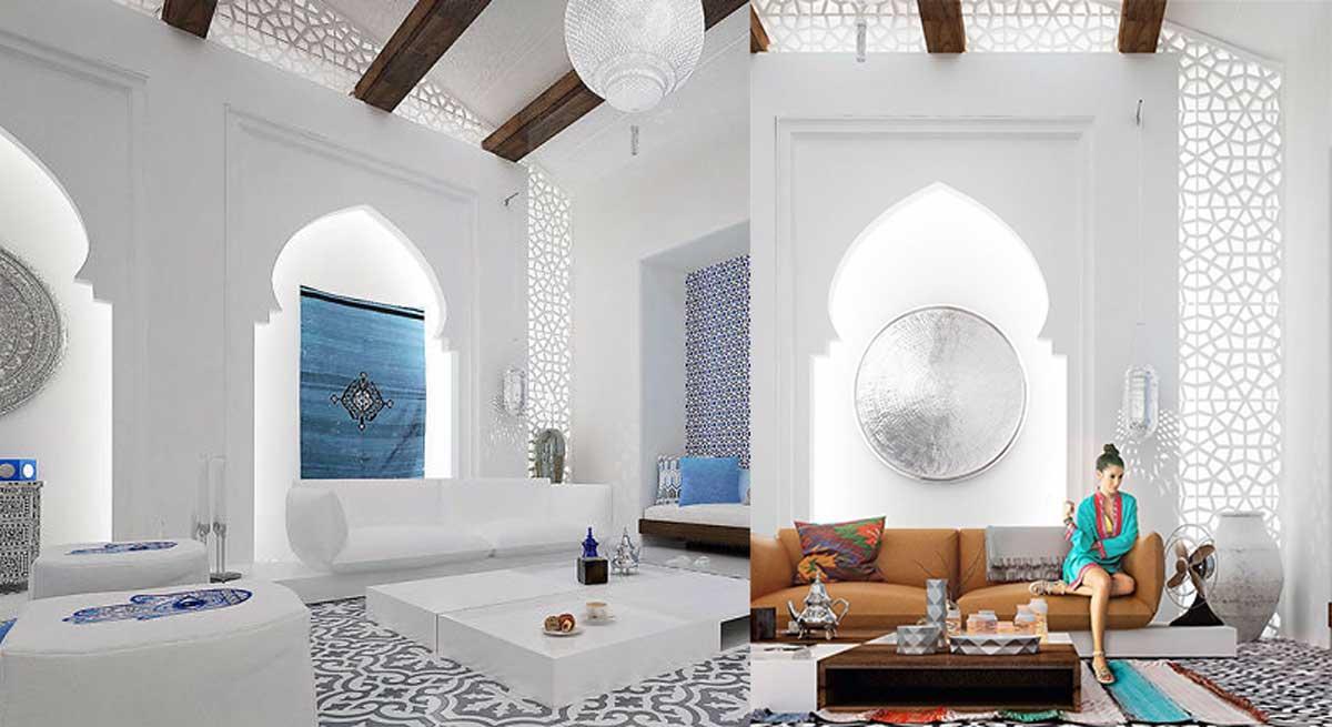 Esta villa marroqu deber a ganar un premio por su hermoso - Blog de diseno de interiores ...