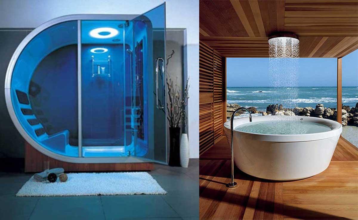 Estas son 12 de las m s lujosas duchas en el mundo y sin for Duchas grandes