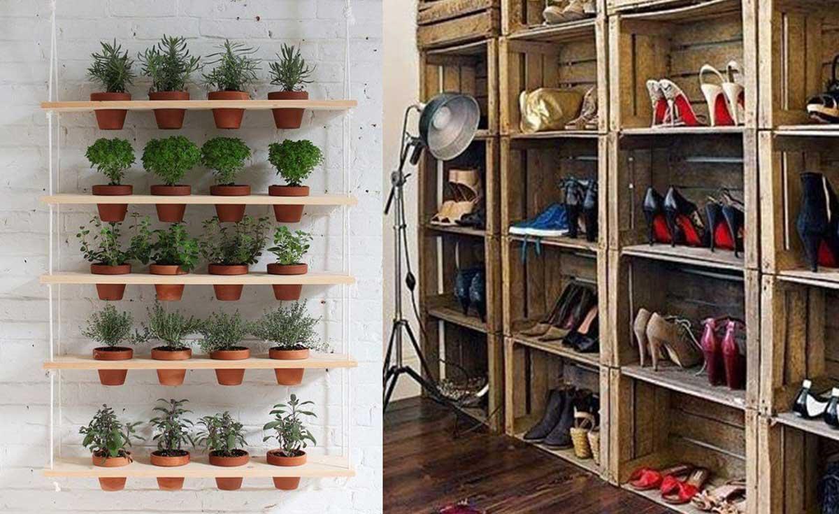 7 ideas con madera que mejorar n tu casa de forma - Cosas de madera para hacer ...