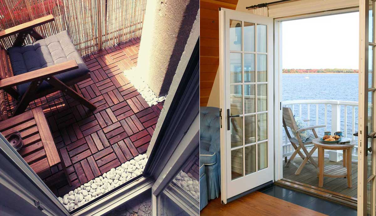 15 maravillosas ideas para convertir el balc n en tu lugar for Como cerrar un balcon