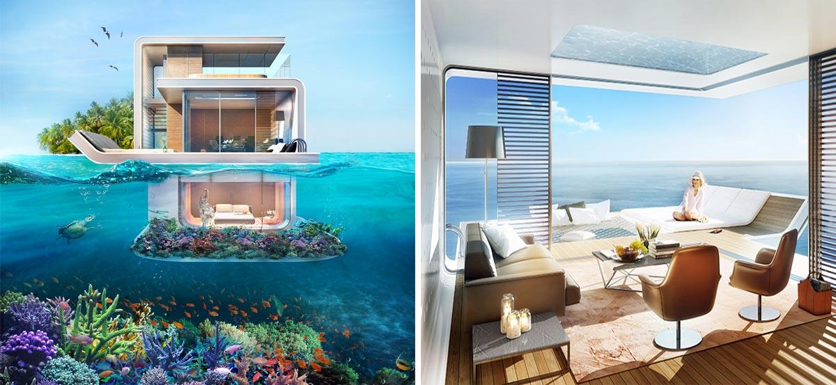 En esta vivienda de dubai te sentir s como la sirenita for Hoteles mas lujosos del mundo bajo el mar