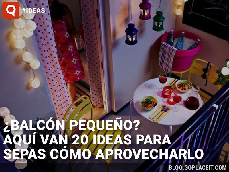 20 ideas para decorar tu peque o balc n goplaceit - Ideas para decorar tu negocio ...