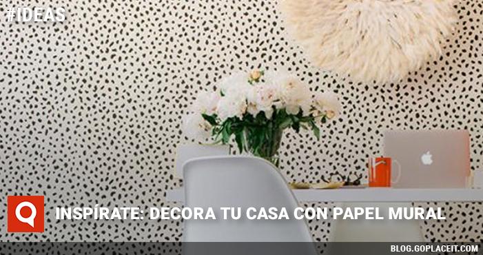 Insp rate decora tu casa con papel mural goplaceit for Donde venden papel mural