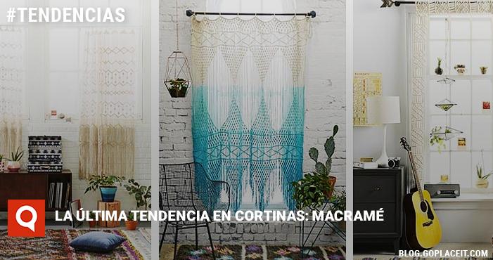 La ltima tendencia en cortinas macram goplaceit for Cortinas 2016 tendencias