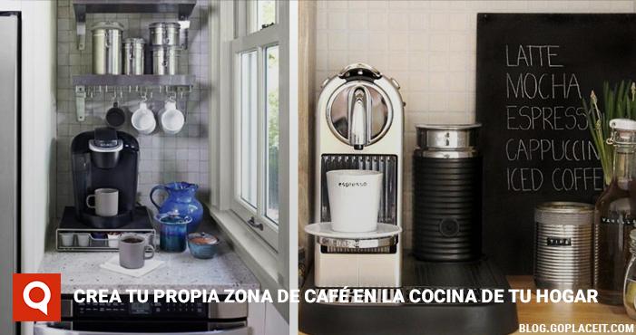 Crea tu propia zona de caf en la cocina de tu hogar - Crea tu cocina online ...