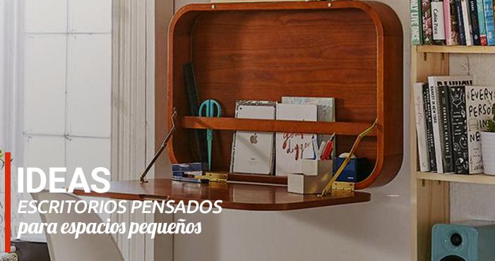 ideas escritorios pensados para espacios pequeos