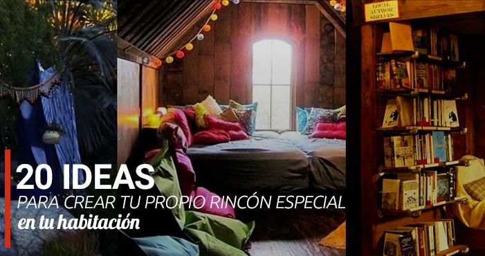 20 ideas para crear tu propio rincón especial en tu habitación ...