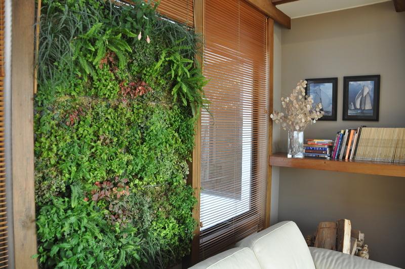 Crea tu propio jard n interior as de f cil goplaceit - Jardin vertical en casa ...