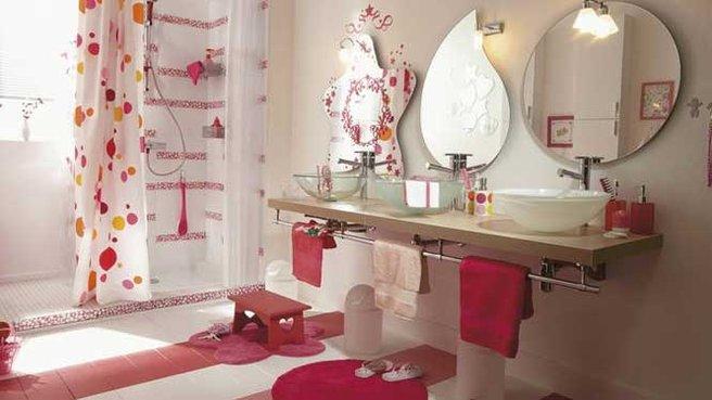 10 cuartos de baños infantiles súper creativos | Goplaceit