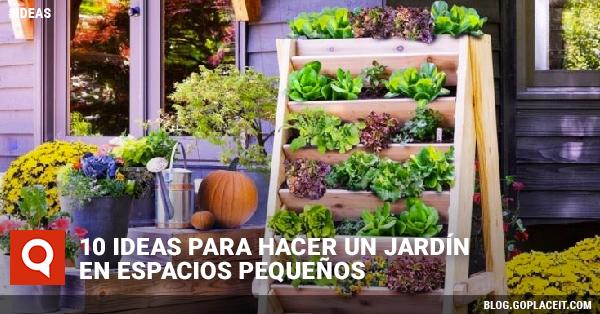 10 Ideas Para Hacer Un Jardin En Espacios Pequenos Goplaceit - Ideas-para-hacer-un-jardin